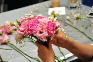Frische Blumenarrangements von Blumen Meister